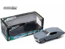 Fast & Furious (2009) 1970 Chevrolet Chevelle SS 1:18 Primer Grey Greenlight - O