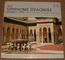HELIODOR 89544 LALO symphonie espagnole GIMPEL UK SLEEVE,GERMAN STEREO PRESSING