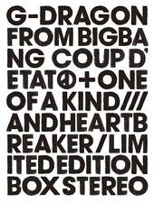 G-DRAGON COUP D'ETAT+ONE OF A KIND&HEARTBREAKER Limited Edition [2CD+DVD] Japan