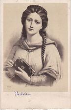 Photo cdv : Bulla ; Portrait de Héloise d'après un dessin ; vers 1865