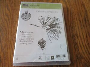 Stamping Up Ornamental Pine Clear Mount Stamps 135107
