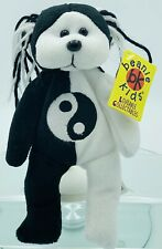 Rare Vintage, 1999, Skansen Beanie Kids, Yinyang The Bear, Toy #90