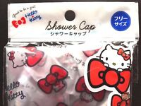 SANRIO Hello Kitty Ribbon Cute Shower Cap Bath time round 46cm free size