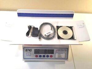 BABY SCALE DIGITAL 30 lb x .1 oz / 15 kg x .005 kg INFANT - 6745