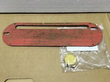 CRAFTSMAN Table Saw Throat Plate   Fits Model 113.XXXX    C-07