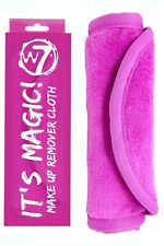 W7 It's Magic! Makeup Remover Cloth, Pink, Cleanse Face with Only Water
