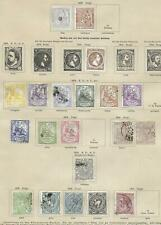New ListingSpain stamps 1873 Collection of 20 Classic stamps High Value!