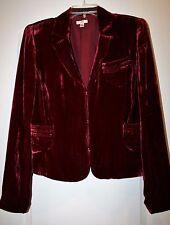 Cache  Women Velour /Silk  Jacket Size 12