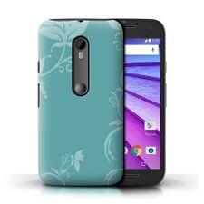 Étuis, housses et coques bleu mat pour téléphone mobile et assistant personnel (PDA) Motorola