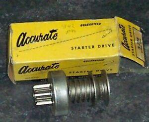 1941-1942 Studebaker President Rebuilt Starter Drive (bendix)