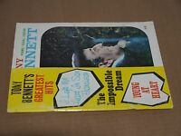 The Very Best of Tony Bennett 1954 songbook - Vocal Piano Guitar chords