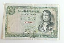 Billete España 1000 Pesetas Noviembre 1949 SIN SERIE Ramón de Santillana MBC