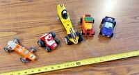 Lot of Vintage Tootsie Toy Cars Dune buggy, Stick Shifters, Hasbro, Buddy L