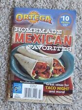 Ortega Homemade Mexican Favorites Recipe Book Booklet Best Recipes
