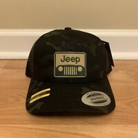 New Black Multicam 4x4 Hunting Off-Road Camo Hat Cap Military Snapback