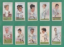 RUGBY  -  WILLS  -  SCARCE  SET  OF  50  RUGBY  INTERNATIONALS  CARDS  -  1929