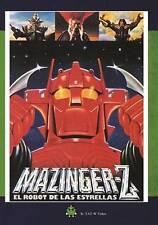 `Mazinger-z, El Robot De Las Estrellas`  DVD NEW