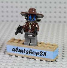 LEGO Star Wars - Cad Bane Minifigure 8128 8098 Pirate Bounty Hunter Pistol Clone