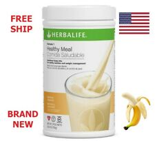 New listing Free Ship!! BRAND NEW!! Herbalife formula 1 healthy meal - BANANA CARAMEL 750g