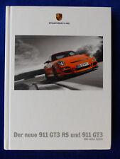 PORSCHE 911 gt3 RS-tipo 997-Hardcover prospetto brochure 07.2006