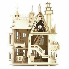 Fantasy Villa Woodcraft Construction Kit 3D Wooden Model Puzzle KIDS