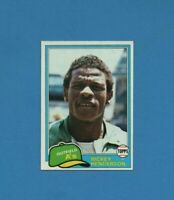 1981 Topps Set Break #261 Rickey Henderson Oakland Athletics HOF