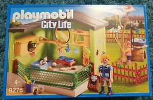 Playmobil 9276 Kleintierpension katze komplett