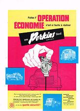 PUBLICITE ADVERTISING  1961   PERKINS DIESEL    moteurs