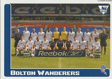 N°110 TEAM EQUIPE BOLTON WANDERERS STICKER MERLIN PREMIER LEAGUE 2006