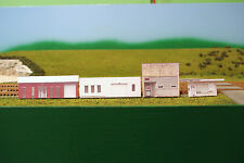 N scale 4 OLD BUILDINGS 4 background building flat