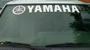 Yamaha Windshield Decal