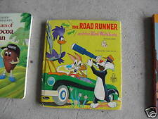 1968 Childrens Book The Road Runner and the Bird Watche