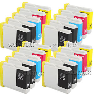 20 Pack LC51 LC-51 Ink for Brother 230C MFC-240c MFC-885c MFC-465cn MFC-5860CN