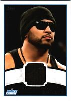 WWE Camacho 2012 Topps Authentic Event Worn Shirt Relic Card Black
