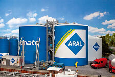 130485 Faller HO Kit of ARAL tank farm - NEW