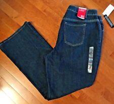Women's Fashion Bug Moderately Curvy Bootcut Jeans Stretch Dark Wash Plus Sz 20W