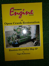 STATIONARY ENGINE ON OPEN CRANK RESTORATION restor rebuild Ruston-Hornsby 5hp IP