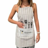 Kitchen Aprons for women - Japanese Style, Apron with Large Pocket, Waterproof