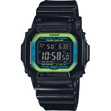 Casio G-Shock GW-M5610LY-1ER Watch Tough Solar Multi Band 6 Lime Accents