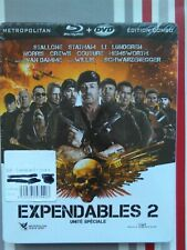 Expendables 2 , steelbook , blu-ray + dvd neuf sous blister