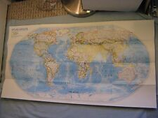 THE WORLD MAP + ATLAS UPDATE National Geographic March 1995