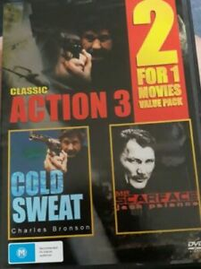 Cold Sweat / Mr Scarface  - Action 3 - Double DVD ALL REGIONS PAL