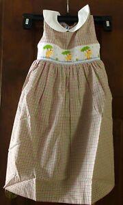 Vive La Fete Spring Shower Smocked Dress - size 3T