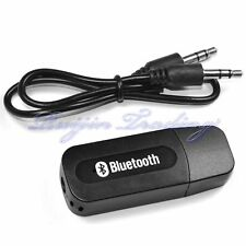 3.5mm AUXILIAR USB Bluetooth Inalámbrico Estéreo Altavoces De Audio Receptor