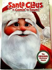 Santa Claus Is Comin to Town (DVD, 2010) NEW WITH SLEEVE