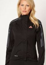 New Womens Adidas Tour Water Resistance Cycling Jacket Size Medium 12-14