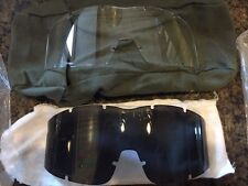 NEW CLEAR & SMOKE Military Arena Flakjak Ballistic Goggles Replacement Lens Army