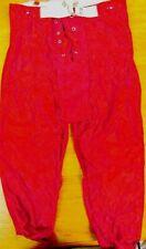 Youth Football Pants Red Delong size Medium New