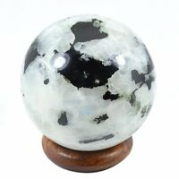 Rainbow MOONSTONE Crystal Sphere Ball Healing Tourmaline 40-45 MM