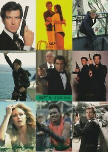 1997 JAMES BOND LEGACY CONNOISSEUR VOLUME 3 COMPLETE BASIC TRADING CARD SET